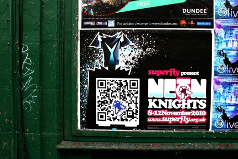Neon Knights Poster 1