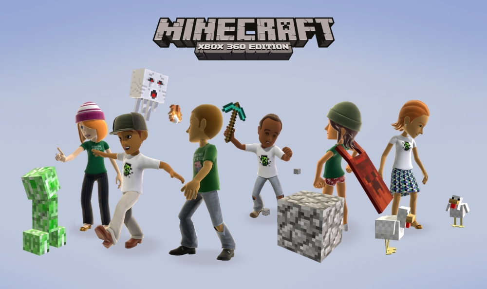 Minecraft For Xbox 360 - Made In Scotland (4/4)