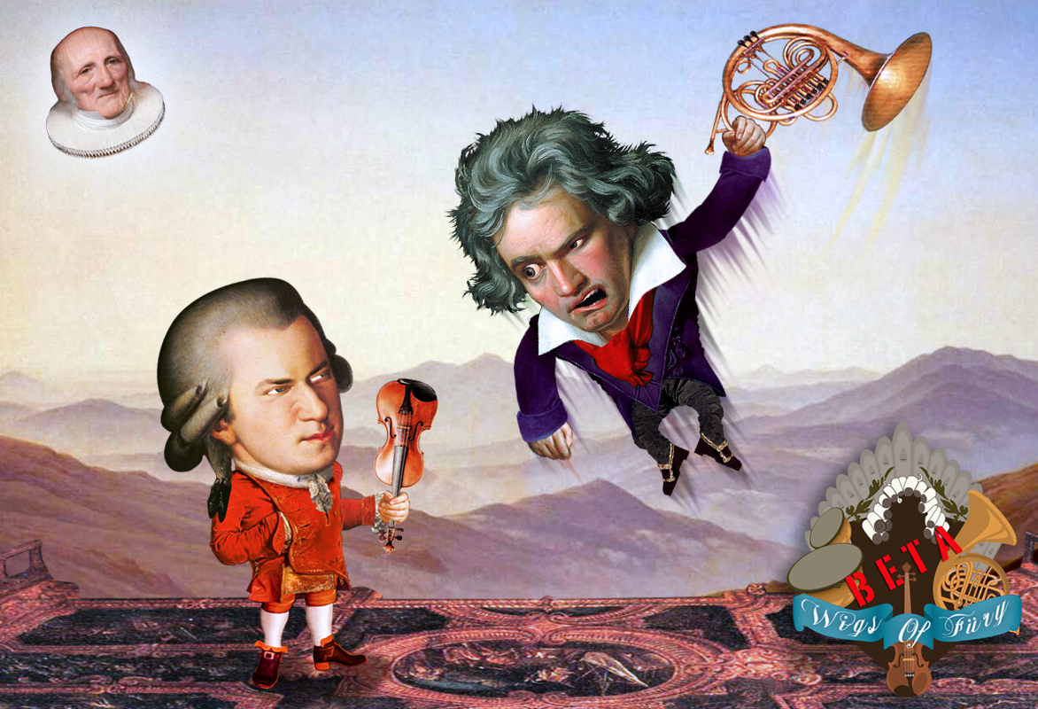Musical styles of mozart and beethoven