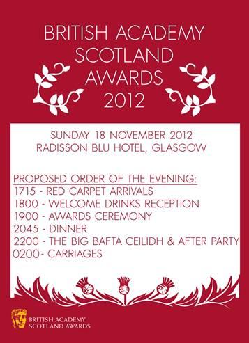 bafta scotland award 2012