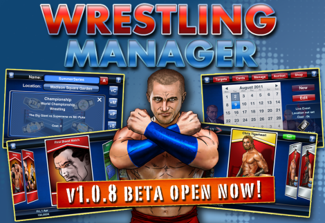 Wrestling Games Wrestling Manager Beta Now Open 2