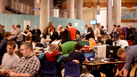 Scottish Game Jam 2013 in Glasgow