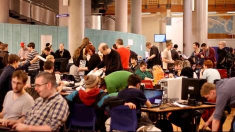 Scottish Game Jam 2013 in Glasgow
