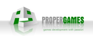 proper games logo
