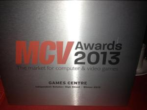 game centre - mcv award