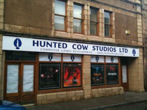 hunted cow