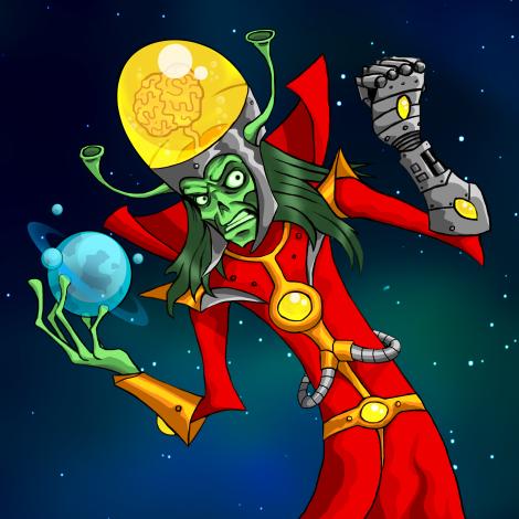 Planet Rush character
