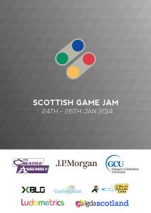scottish games jam logo