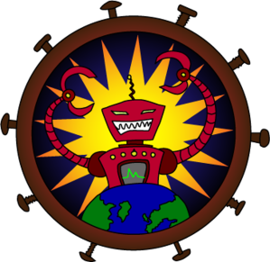 Robot Overlord Games - Logo