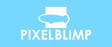 pixel blimp logo