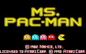 mspacman screen logo