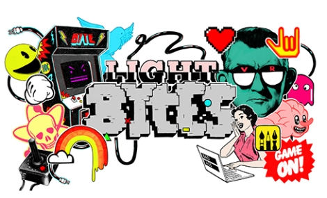 Illustration for LIGHT BYTES an event for Creative Edinburgh and Creative Scotland by Want Some Studio