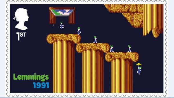 Lemmings Postage Stamp 2020